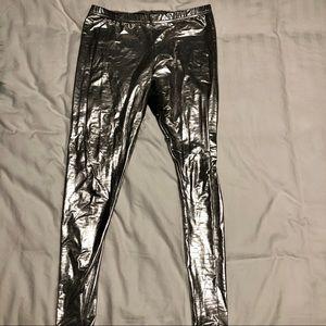 Silver American Apparel leggings size large